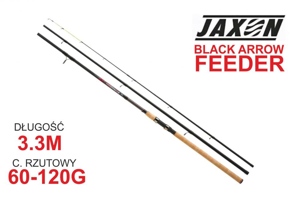 Jaxon WĘDKA BLACK ARROW FEEDER 3,30m 60-120g JAX-WJ-BAF330120