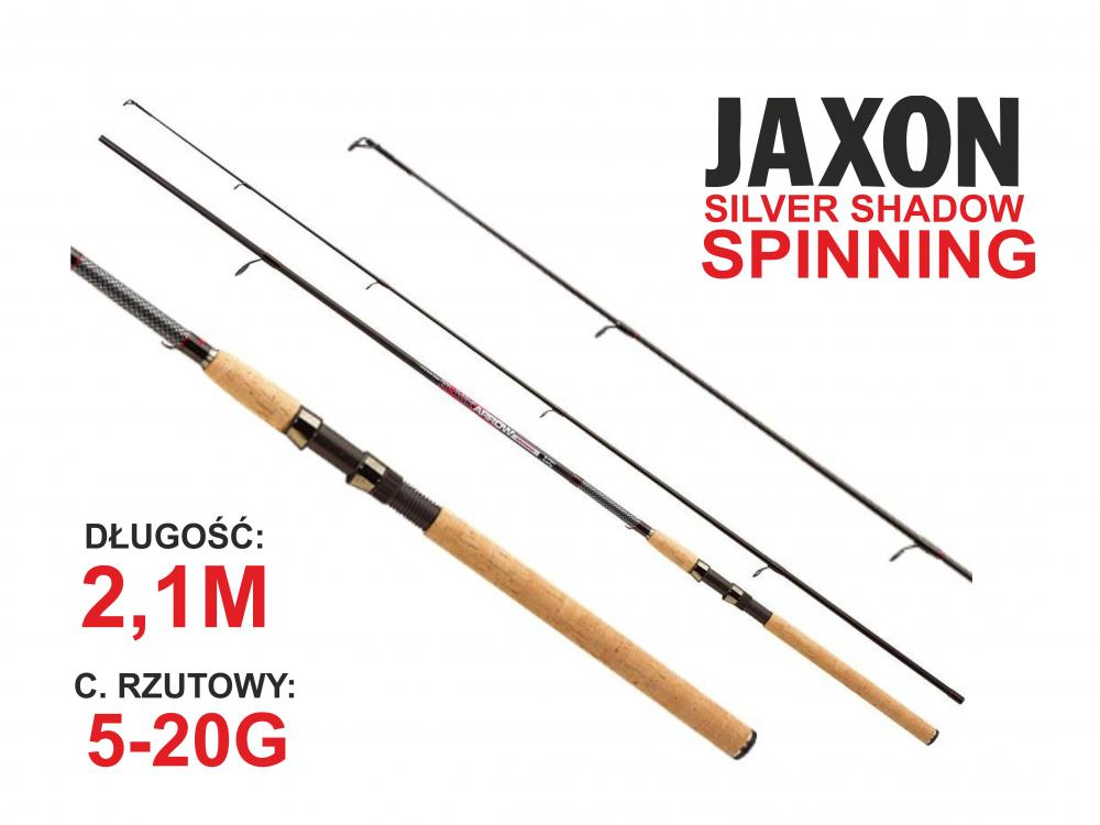 Jaxon WĘDKA BLACK ARROW SPINNING 2,10m 5-20g JAX-WJ-BAS21020