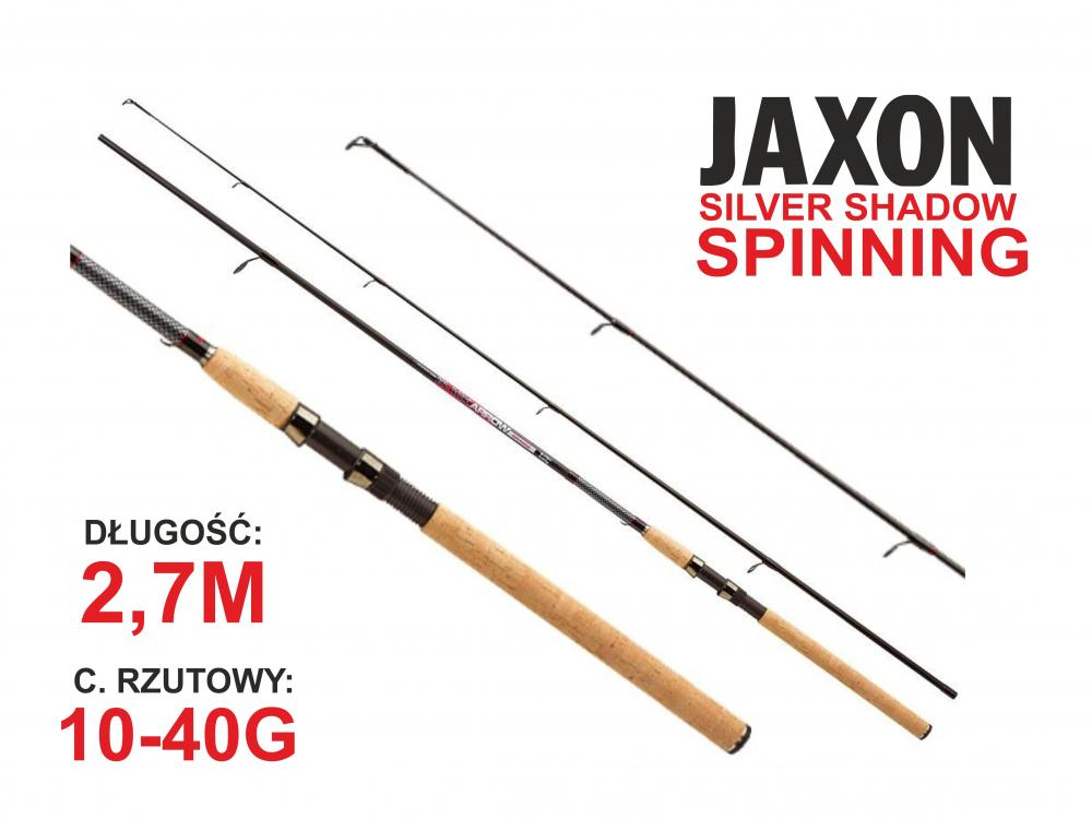 Jaxon WĘDKA BLACK ARROW SPINNING 2,70m 10-40g JAX-WJ-BAS27040